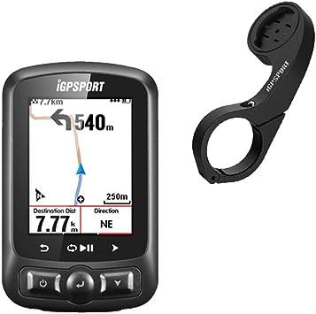 iGPSPORT GPS bicicleta ordenador de ciclismo ANT+ función iGS618 ...