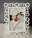 Painting Mantra & Art Street Decoralicious White Designer Circular Motif Photo Frame For Home Dã©Cor