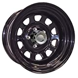"Pro Comp Steel Wheels Series 52 Wheel with Gloss Black Finish (16x10""/8x6.5"")"