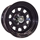 Pro Comp Steel Wheels Series 52 Wheel with Flat Black Finish (16x18''/5x5'')