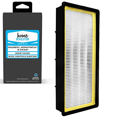 Home Revolution Replacement HEPA Filter, Fits Holmes, Honeywell, Vicks Air Purifier and Parts 16216, HAPF30 and (Fits Holmes Models)