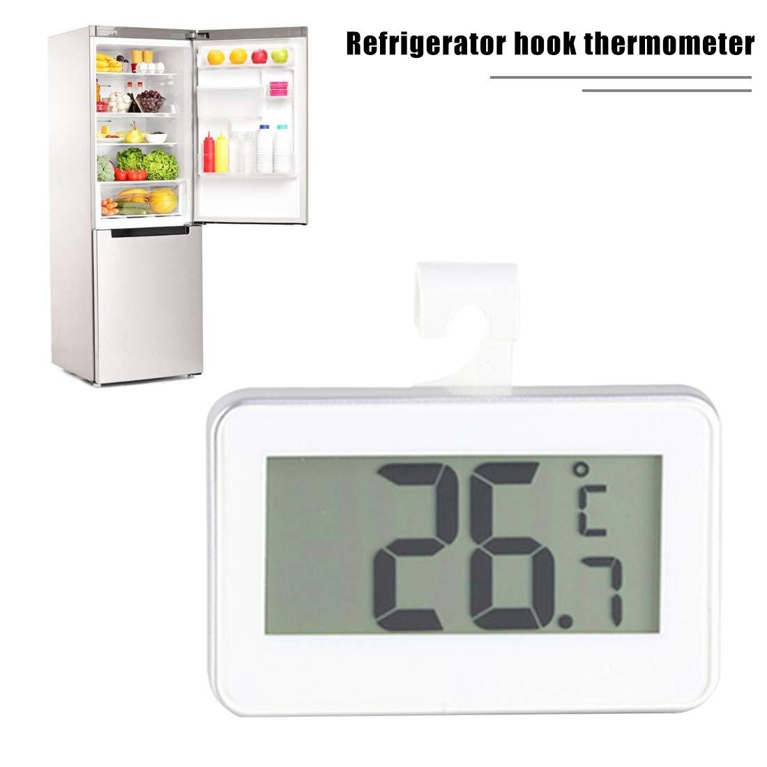 Termómetro de Congelador Digital Termómetro de Refrigerador ...