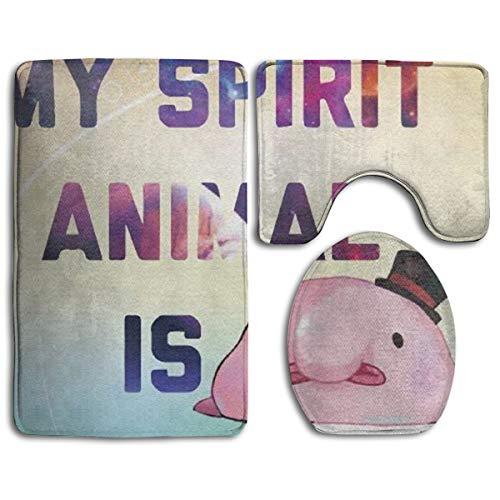 HDISJHF My Spitit Animal Blobfish 3-Piece Super Memory