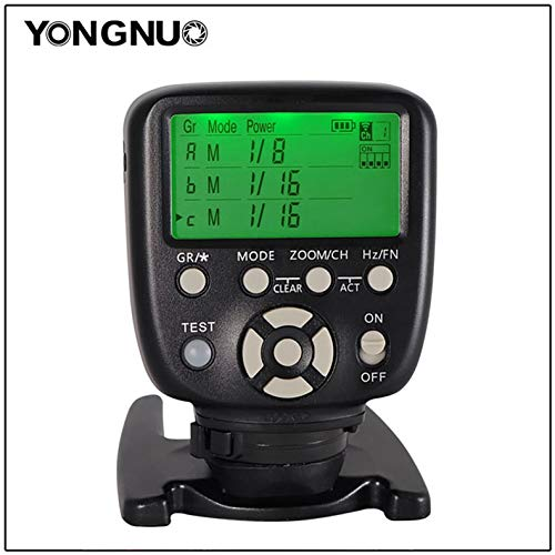 DishyKooker Yong-NUO YN560-TX LCD Flash Trigger Remote Controller for Ni-kon Can-on YN560-III with Wake-up Function for Ni-kon Can-on Cameras YN560-TX II Can-on Mouth Electronic Products