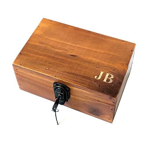 Bridesmaid Keepsake Box - Awerise Personalized wooden keepsake box w/lock key, Custom jewelry box, bridesmaid box, mother girlfriend gift