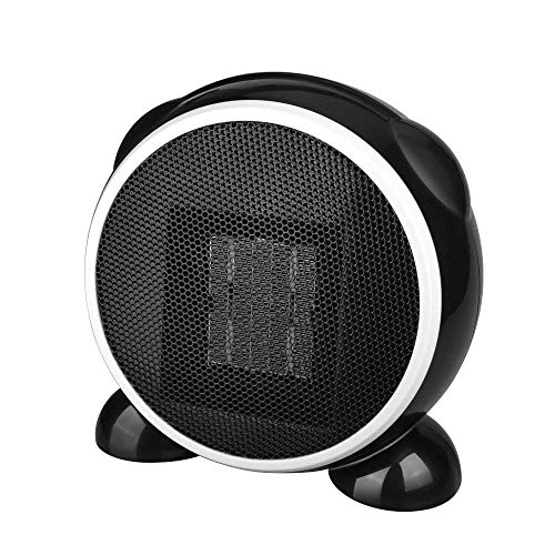 Suyisy Space Heater PTC Ceramic Electric Heater for Home and Office Indoor Use 500W – Black