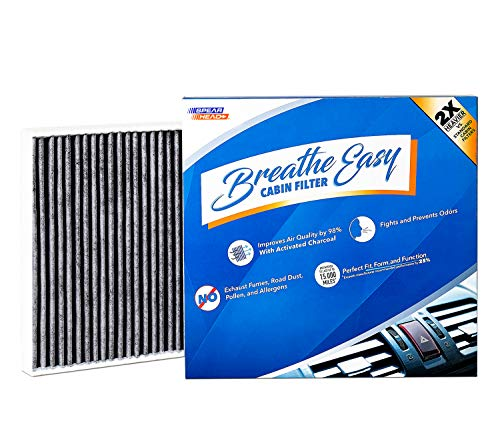 (Spearhead Premium Breathe Easy Cabin Filter, Up to 25% Longer Life w/Activated Carbon (BE-920))