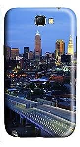 Samsung Note 2 Case Cleveland Ohio 3D Custom Samsung Note 2 Case Cover