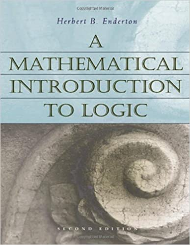 A mathematical introduction to logic herbert b enderton a mathematical introduction to logic 2nd edition fandeluxe Choice Image