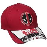 New Era Cap Men's Logo Scramble Deadpool 9forty Adjustable, Red, One Size