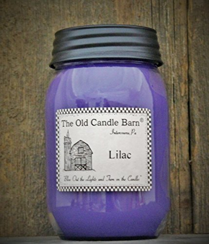 Lilac 16 Oz Jar Candle - Made in The USA - Blow Out The Light and Turn On The - 16 Jar Oz Lilac