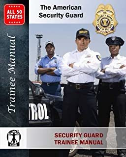 Amazon the effective security officers training manual security guard training manual the american security guard fandeluxe Image collections