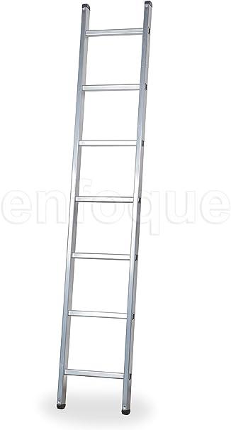 ALTIPESA Escalera Profesional de Aluminio de Apoyo Simple 7 peldaños Serie Basic: Amazon.es: Hogar
