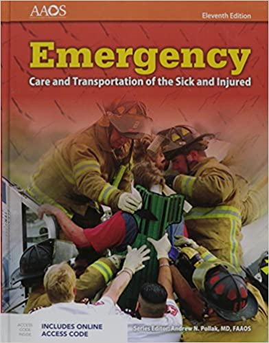 Emergency care and transportation of the sick and injured includes emergency care and transportation of the sick and injured includes navigate 2 essentials access orange book 11th edition fandeluxe Choice Image