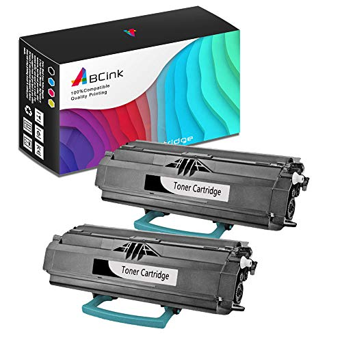 - ABCink Compatible Toner Cartridge Replacements for Lexmark 23800SW 23820SW,for use in Lexmark E238,6000 Yields(2 Pack,Black)