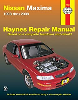 nissan maxima 1993 thru 2001 hayne s automotive repair manual rh amazon com 1997 Nissan Maxima 1998 nissan maxima service manual pdf