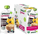 Sprout Organic Baby Food Pouches Stage 2 Sprout Baby Food, Blueberry Banana Oatmeal, 3.5 Ounce (Pack of 6); USDA Organic, Non-GMO, Made with Whole Foods, No Preservatives, Nothing Artificial