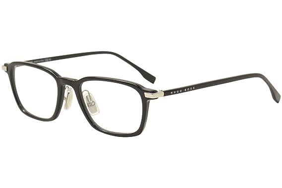 5dee18ec03 Hugo Boss Men s Eyeglasses 0910 807 Black Full Rim Optical Frame 50mm