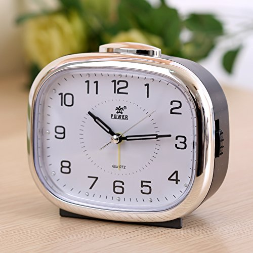 - ASIBG Home Small night light alarm clock bedside clock creative lazy school children watches fashion bedroom clock,C