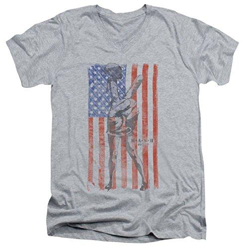 Mash Hang Em High Slim Fit V-Neck T-Shirt