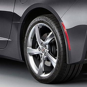 Corvette C7 Stingray OEM GM Rear Fender Molded Splash Guards Black