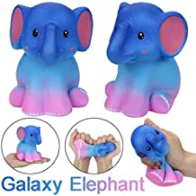 Gocheaper Squishy Toy,Squishy Jumbo Galaxy Elephant Soft Slow Rising Cream Scented Stress Relief Toy Gift (A)