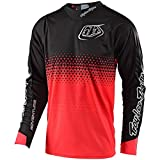 2019 Troy Lee Designs Radius 2.0 Starburst Jersey-Red-L