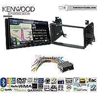 Volunteer Audio Kenwood Excelon DNX994S Double Din Radio Install Kit with GPS Navigation Apple CarPlay Android Auto Fits 2004-2006 Kia Spectra. 2005-2008 Kia Spectra5
