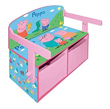 Peppa Pig 3 in 1 Convertible ToyBox  sc 1 st  Amazon UK & Peppa Pig 3 in 1 Convertible ToyBox: Amazon.co.uk: Kitchen u0026 Home