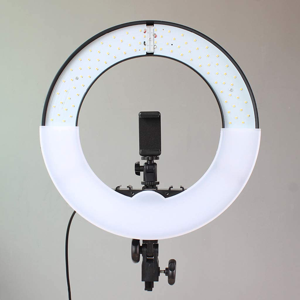 YouTube//Video Shooting HULYZLB LED Ring Light18//48CM Dimmable LED Ring Light with Stand 5500K Camera Photo Video Lightning Kit