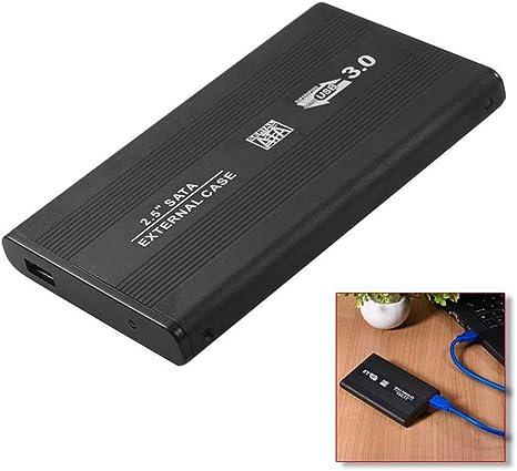 OcioDual Carcasa Caja para Disco Duro Externo Sata 2.5 USB 3.0 Funda Cuero HD: Amazon.es: Informática
