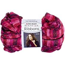 Red Heart  Boutique Ribbons Yarn, Rosebud