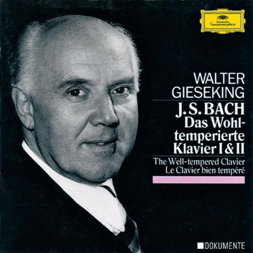 Bach: Well-Tempered Clavier by Deutsche grammophon