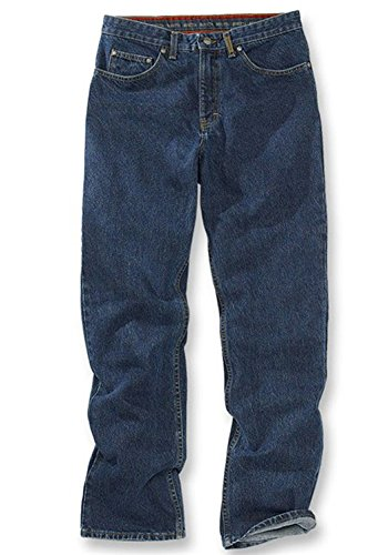 Denim 36 x 32 Beretta Men's Relaxed Fit Red Line Jeans Pant