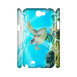 VNCASE Tortoise Phone Case For Samsung Galaxy Note 2 N7100 [Pattern-1]