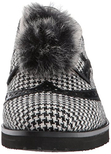 516zT1wxdHL Sam Edelman Women's Dahl Oxford, Black/White Houndstooth, 8 Medium US