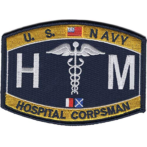 (Navy Rating Hospital Corpsman Patch -)