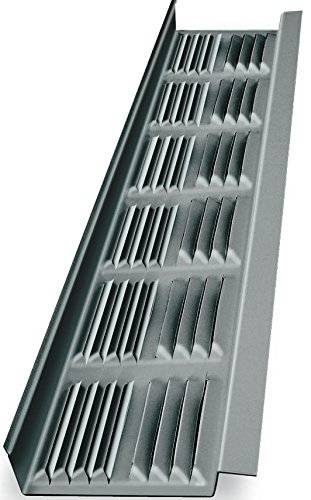 Ll Building Products 8Ft Mill Louvered Soffit Vent LSV8