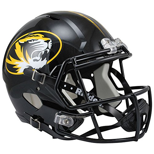 Missouri Tigers Officially Licensed NCAA Speed Full Size Replica Football Helmet by Riddell