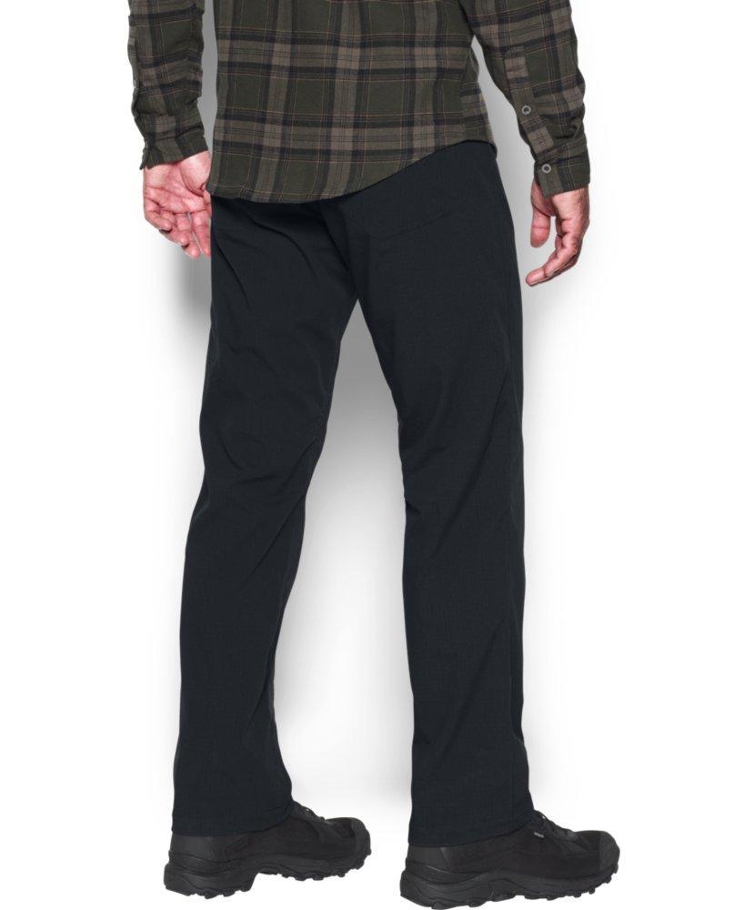 Under Armour Men's Storm Covert Tactical Pants, Black /Granite, 30/30 by Under Armour (Image #3)