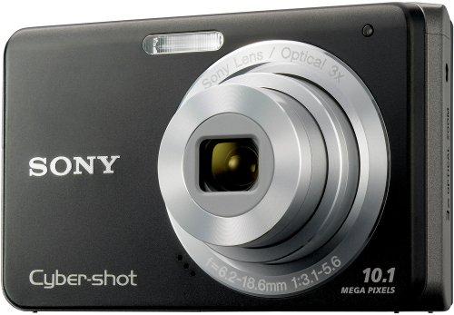 Sony Cybershot DSC-W180 10.1MP Digital Camera with 3x SteadyShot Stabilized Zoom and 2.7-inch LCD (Black) ()