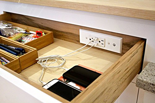 Docking Drawer 21 Slim In-Drawer Charging Outlet featuring 2AC and 2 USB ports, Listed to UL 962a, Easy to Install by Docking Drawer (Image #4)