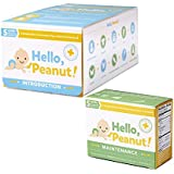 Hello, Peanut! Introduction & Maintenance Kits for A Gradual Way to Introduce Your Infant to Peanuts, Allergist Approved, All Natural, USDA Organic (16 packets)