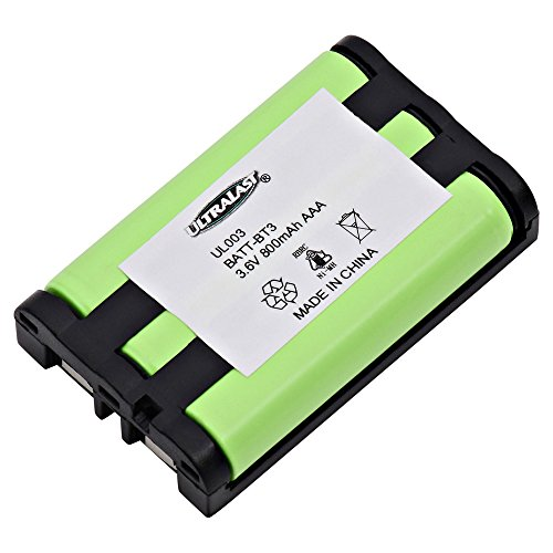 Uniden CLX485 Cordless Phone Battery Ni-MH, 3.6 Volt, 900 mAh - Ultra Hi-Capacity - Replacement for Uniden BT-003, BBTY0545001, CLX series, TCX-400 Rechargeable Battery (003 Cordless Phone Battery)