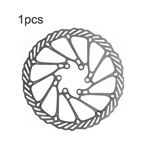 High Strength Steel G3 160mm Bicycle Bike Cycling Disc Brake 6 Holes Rotor Pads by Isguin