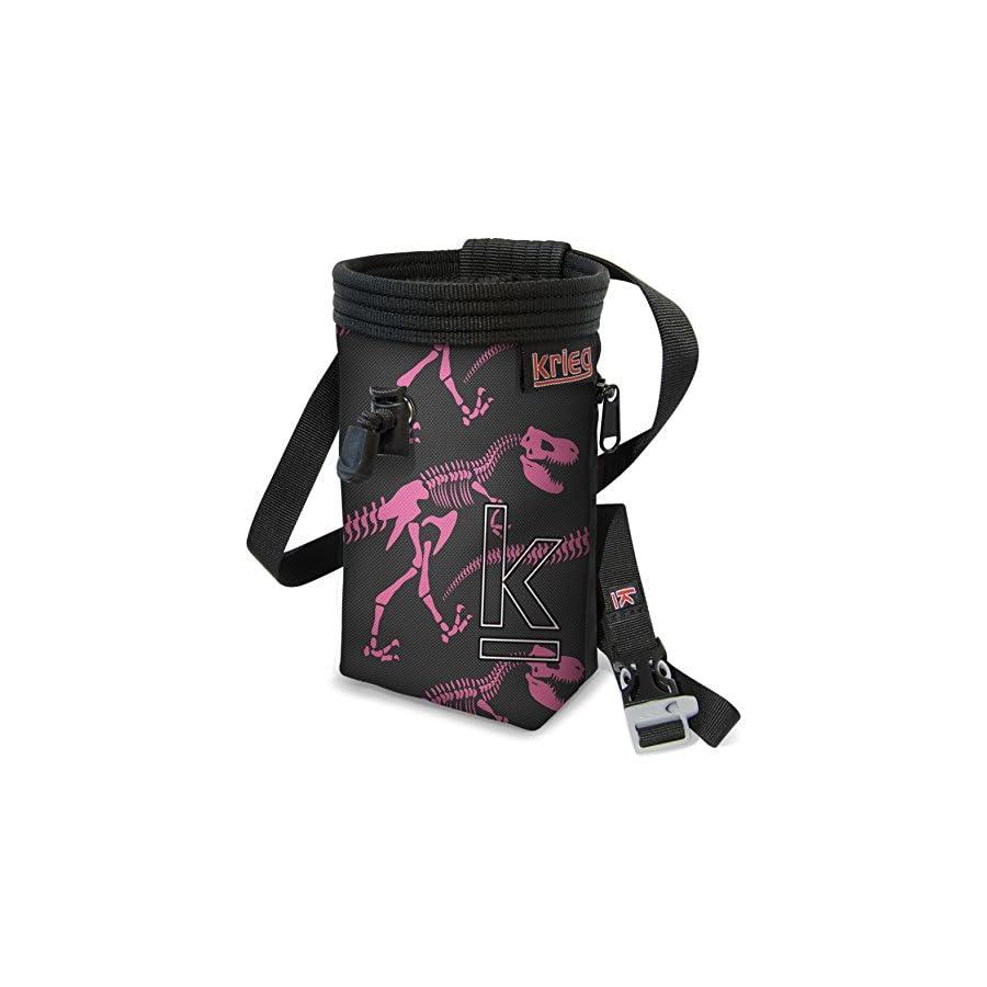 Krieg Climbing Pink Dinosaur Chalk Bag