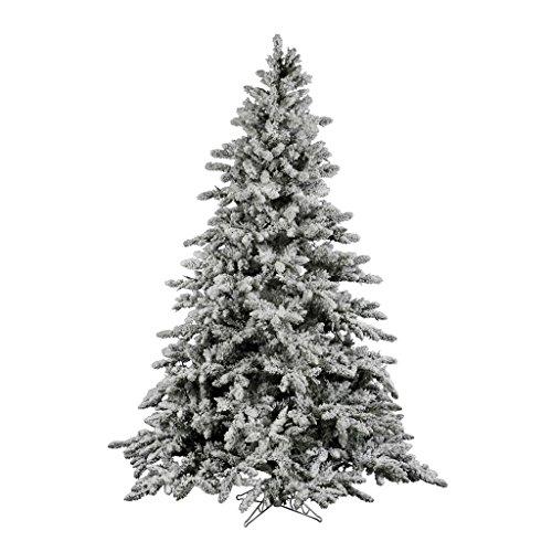 Vickerman 12 ft. Flocked Utica Fir Christmas Tree (Flocked Utica Tree)