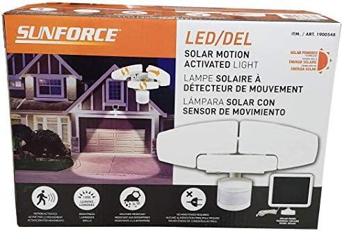 Sunforce Solar Motion Security Orange product image