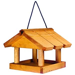 Mini Hanging Bird Table for Wildbirds over Balconies, Small Gardens, Patios, etc