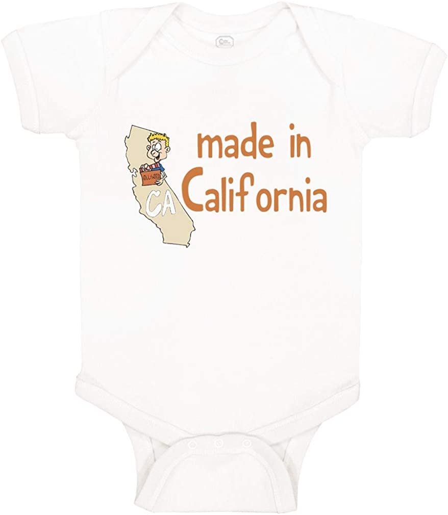 Made In California Baby Bodysuit